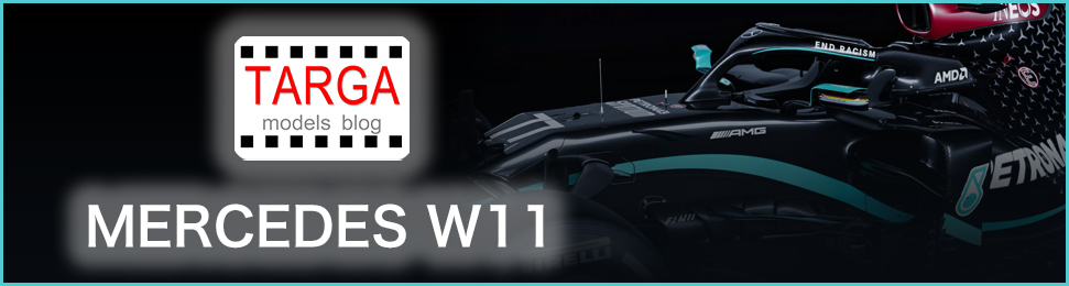 TARGA models blog Mercedes F1 W11 EQ Performance