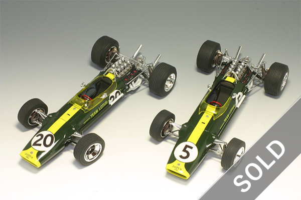 1/20 Team Lotus Type 49 1967