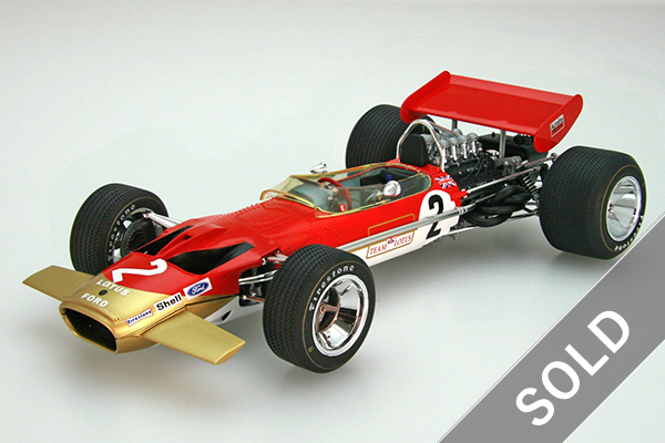 1/20 Team Lotus Type 49B 1969