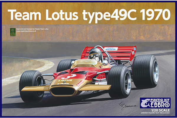 1/20 Team Lotus Type 49C 1970