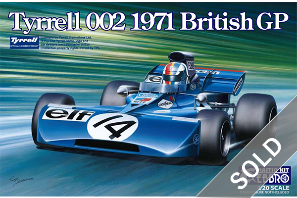1/20 Tyrrell 002 British GP 1971