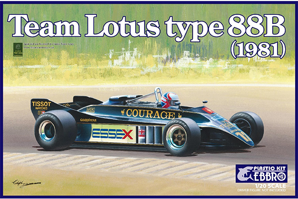 1/20 Team Lotus Type 88B 1981