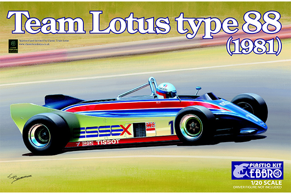 1/20 Team Lotus Type 88 1981