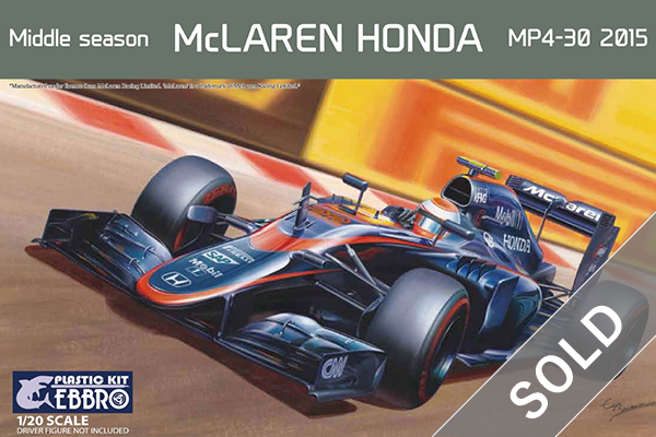 1/20 McLaren Honda MP4-30 2015 Middle Season