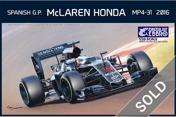 1/20 McLaren Honda MP4-31 Spanish GP