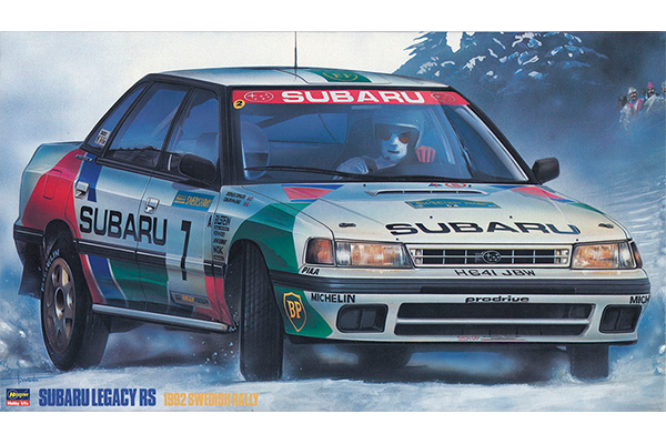 "1/24 Subaru Legacy RS ""1982 Swedish Rally"""