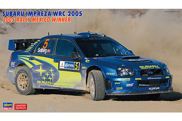 "1/24 Subaru Impreza WRC 2005 ""2005 Rally Mexico Winner"""