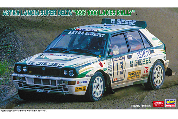 1/24 Astra Lancia Super Delta 1993 1000 Lakes Rally