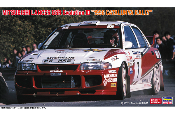 1/24 Mitsubishi Lancer GSR Evolution III 1996 Catalunya Rally