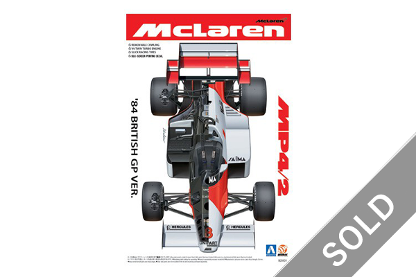1/20 McLaren MP4/2 1984 British GP Ver.