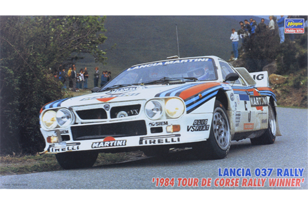 "1/24 Lancia 037 Rally ""1984 Tour De Corse Rally Winner"""