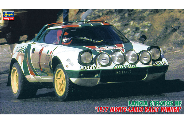 "1/24 Lancia Stratos HF ""1977 Monte-Carlo Rally Winner"""