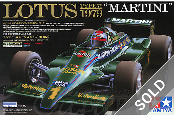 "1/20 LOTUS TYPE 79 1979 ""MARTINI"""