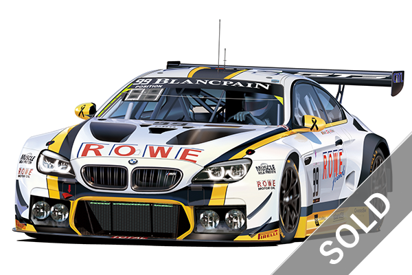 1/24 BMW M6 GT3 2016 Spa 24h Winner