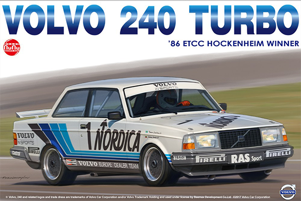 1/24 Volvo 240 Turbo 1986 ETCC Hockenheim Winner