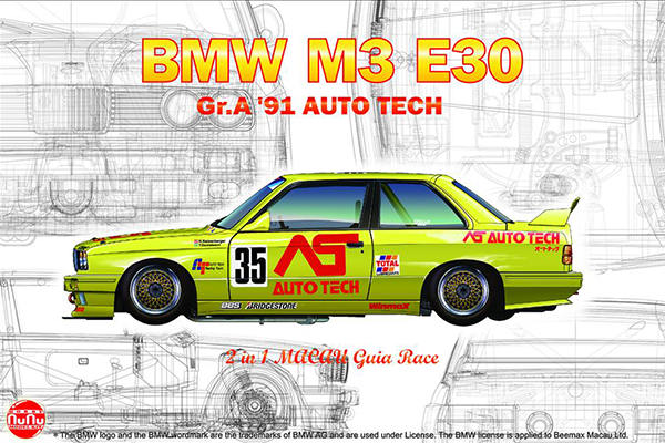 1/24 BMW M3 E30 GroupA 1991 Auto Tech