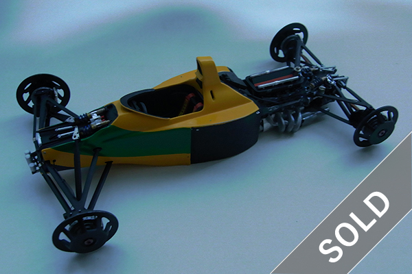 1/20 Benetton B192 1992 Chassis