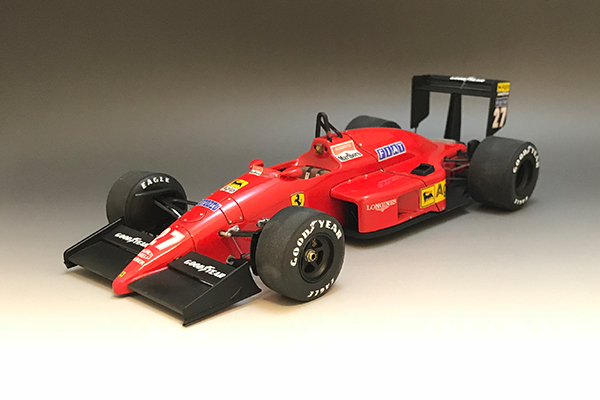 1/20 Ferrari F187 1987 early ver. #27 Michele Alboreto