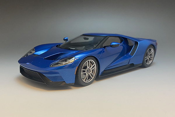 1/24 Ford GT Metalic Blue