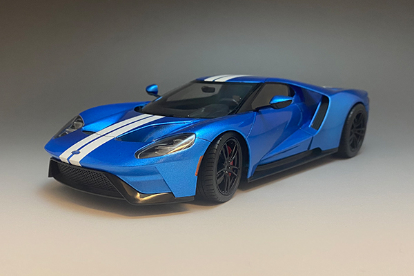 1/24 Ford GT Light Metalic Blue