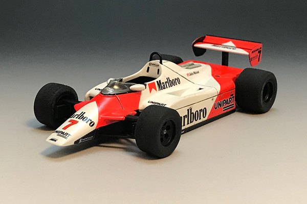 1/43 McLaren MP4/1B F1 1982 British GP #7 John Watson