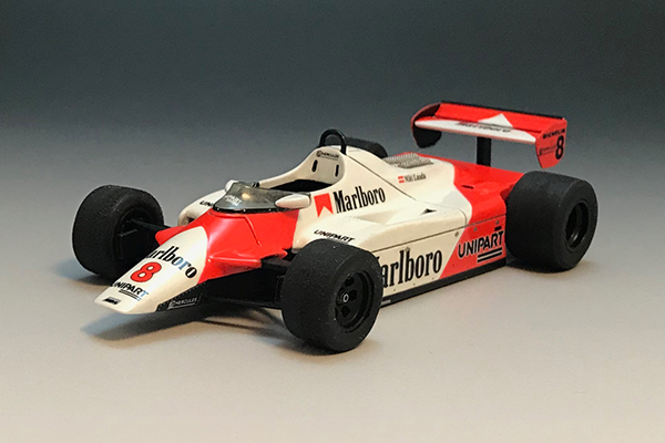 1/43 McLaren MP4/1B F1 1982 British GP #8 Niki Lauda